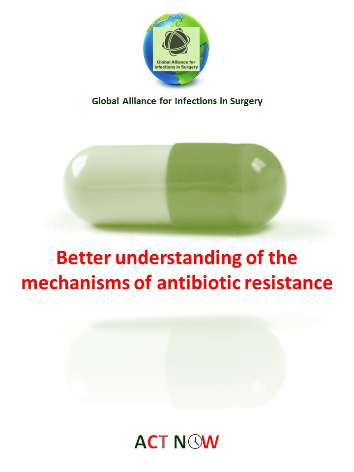Better understanding of the mechanisms of antibiotivc resistance